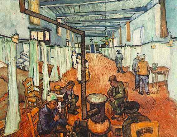 Van Gogh Hospital Ward in Arles