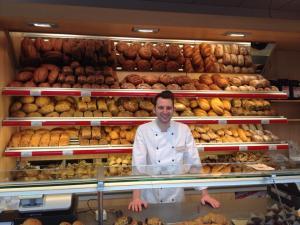 """Robert Matheis, der Chef der glutenfreien Bäckerei """"Die Maisterei"""""""