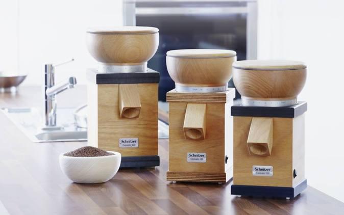 Mühlen für zu Hause - glutenfrei eingemahlen