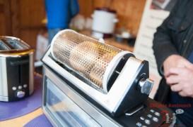 Sunny Cage - Kontaminationsfrei Brötchen am Toaster aufbacken