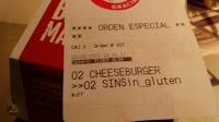 Glutenfreie Hamburger bei McDonalds in Spanien