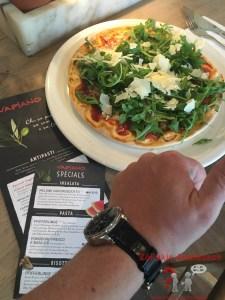Glutenfreie Pizza bei VAPIANO