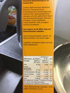 Zutaten Brotbackmischung Dunkel bei LIDL