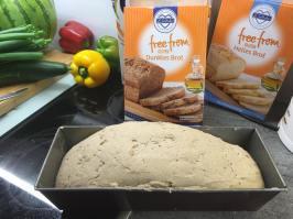 Das Brot nach dem Gehen