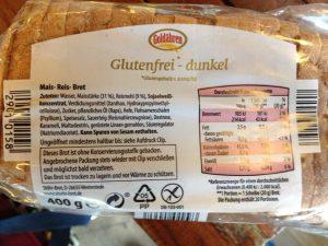 brot glutenfrei aldi