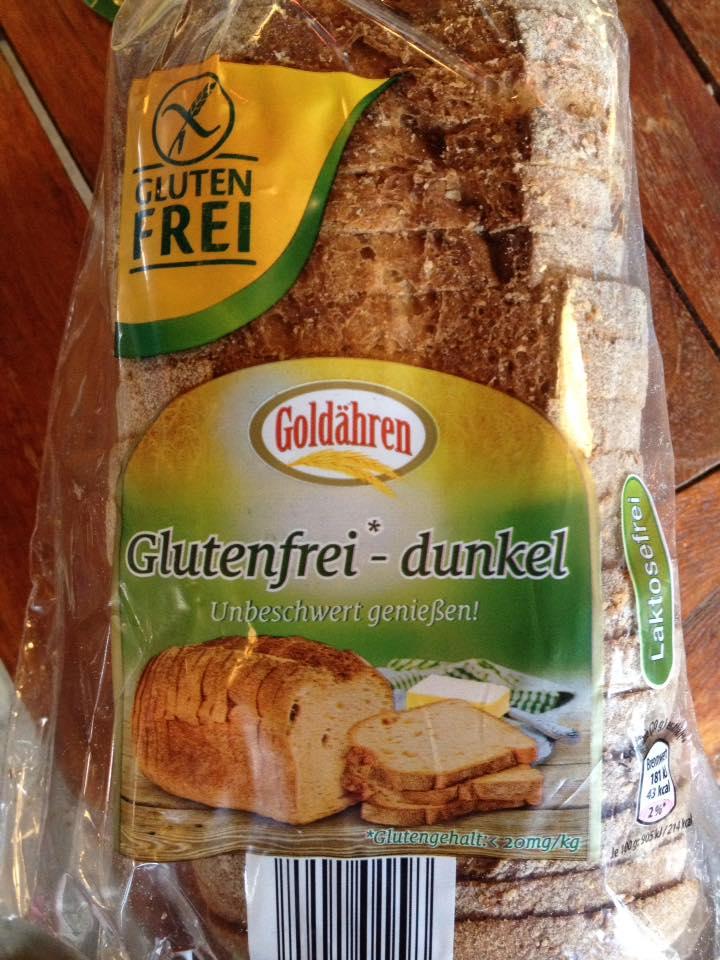 Verpackung Goldähren – Glutenfreies Brot Aldi Nord