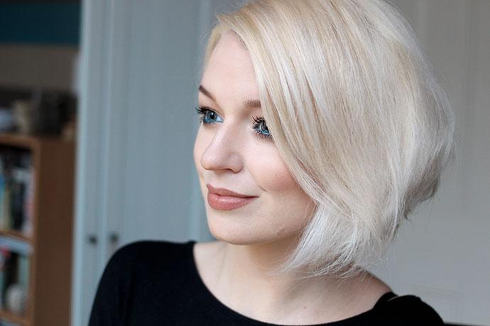 Platinum Blonde White Short Hair Zoe Newlov Toner For Platinum Blonde Hair