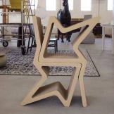 Cardboard furniture by Konstantin Achkov at Coroflot.com