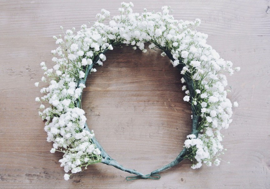 Baby's Breath Flower Crown - Zoë With Love