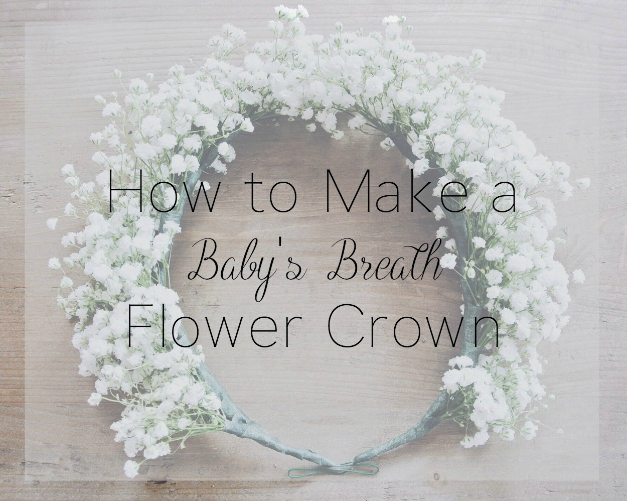 How to make a babys breath flower crown zoe with love how to make a babys breath flower crown izmirmasajfo