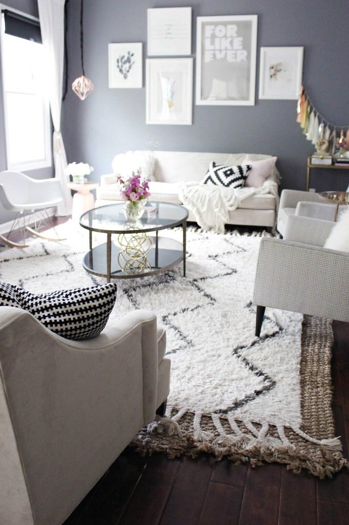 50 Images Of Astounding Pink Grey Living Room Ideas Hausratversicherungkosten
