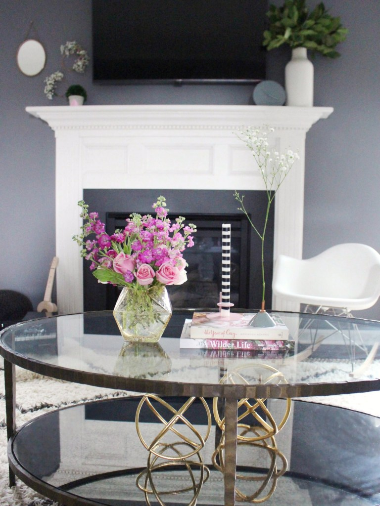 Mantel and Coffee Table Decor