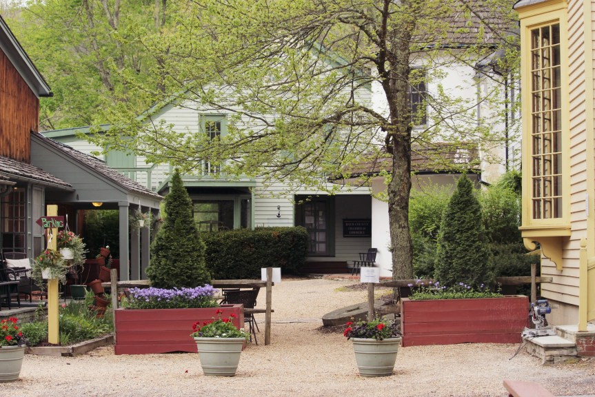 Oozing with character and country charm, The Inn at Gristmill Square is a hidden gem boutique inn located in Warm Springs, Virginia