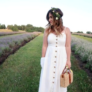 That Time We Had Dinner in a Lavender Field