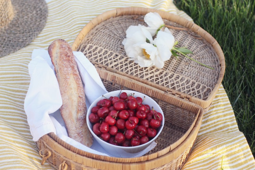 Fresh Cherries, Family Picnic Ideas with Dietz and Watson