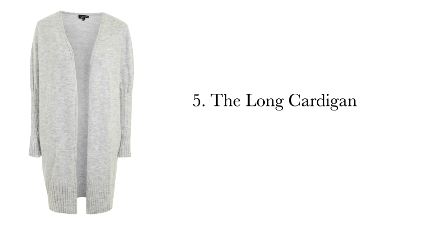 5 must have sweater styles: the long cardigan