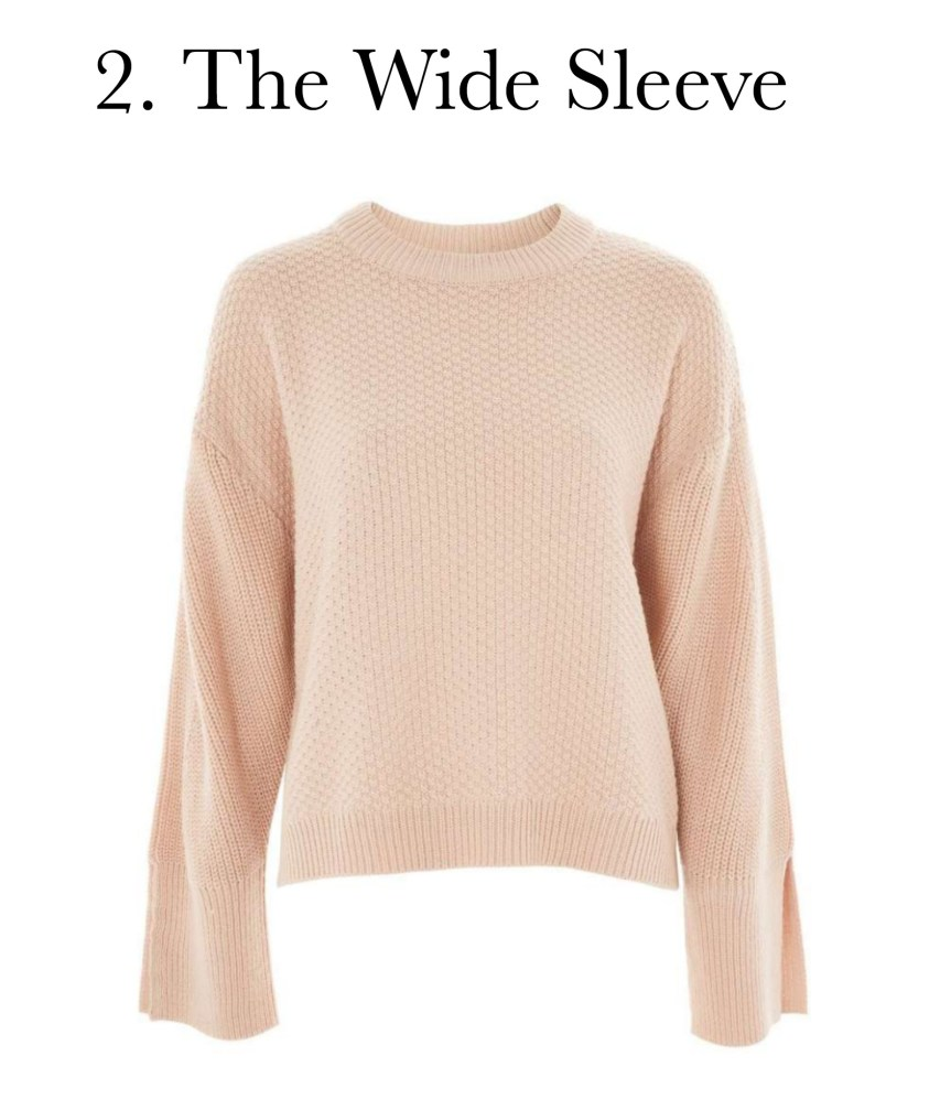 5 must have sweater styles: the wide sleeve