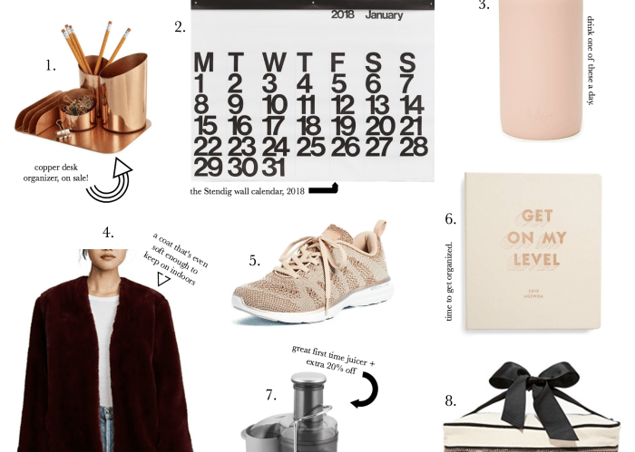 New Year Must Haves: The best calendars, sneakers, agendas and juicers. | Pittsburgh lifestyle blog, Zoe With Love