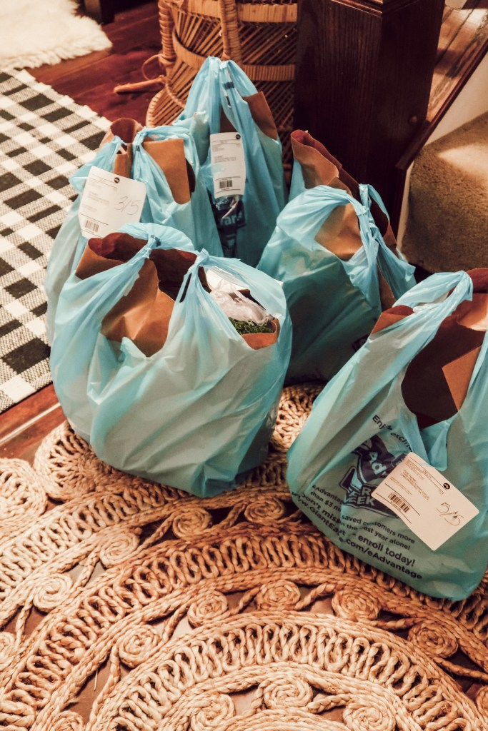 Meal Plan and Shopping List featuring Sweet Potato, Kale, Pears and Banana with Giant Eagle Curbside Express Delivery   Pittsburgh Lifestyle Blog, Zoë With Love