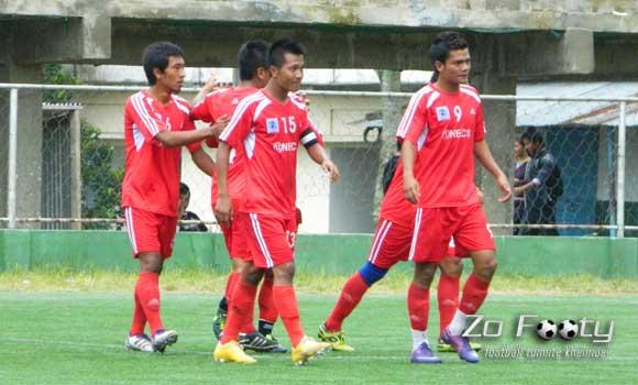 MPL Playoff Round 1- Match No. 3 : Aizawl FC-in Lammual-ah Goal an sur tir!