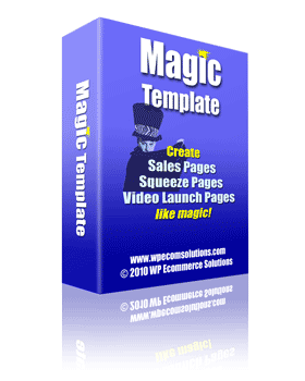 magic template för wordpress tema