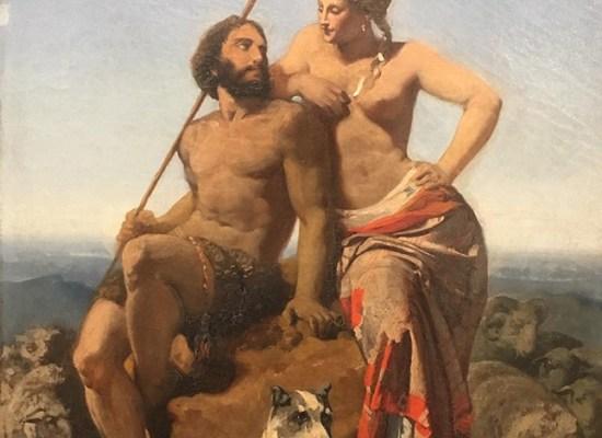 Jules-Claude Ziegler: Les Pasteurs de la Bible