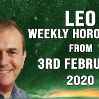 Leo Weekly Horoscopes & Astrology from 3rd February 2020