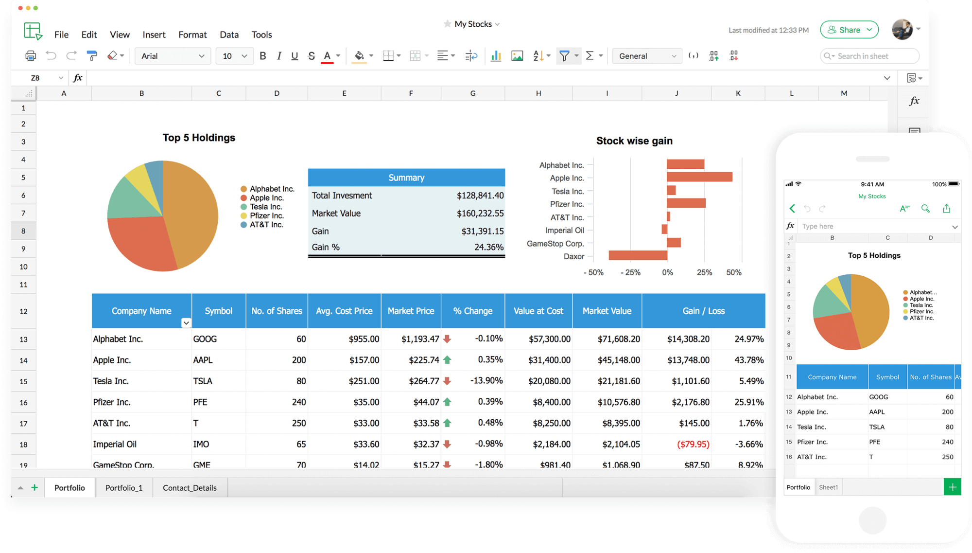 Online Spreadsheet Software