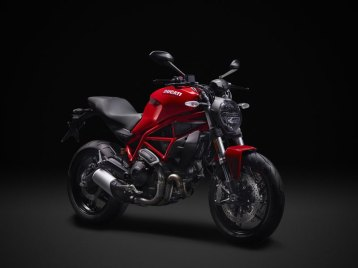 Monster 797 Ducati Red