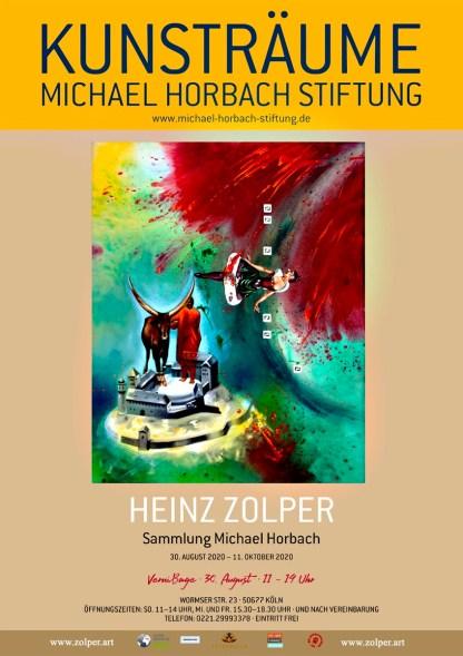 Zolper - Ausstellungsposter Horbach Stiftung