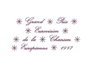 eurovision logo 1957