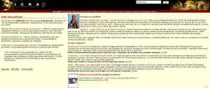 site web icra international HP