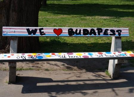 We love Budapest