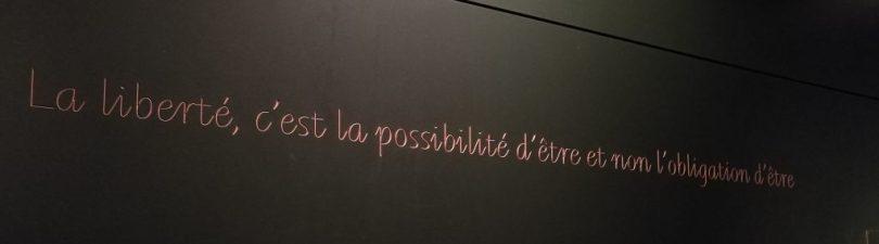 """""""La liberté, c'est la possibilité d'être et non l'obligation d'être"""" Magritte."""