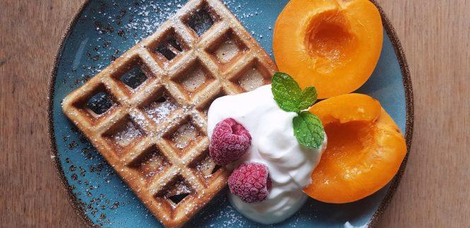 ontbijtwafeltjes voor twee