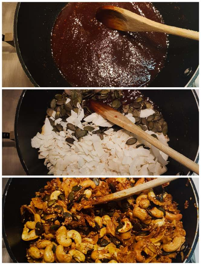 Currynotenmix how-to