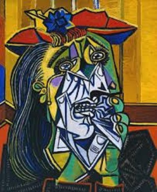 "Pablo Picasso ""Weeping Woman"""