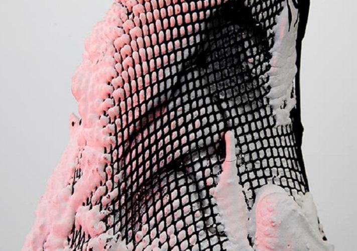 Dutch designer Jólan van der Wiel Magnetic Plastic And Pantyhose
