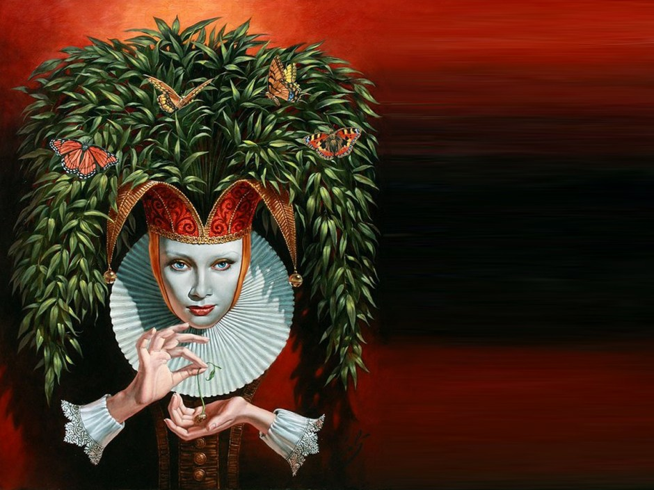 "JULY 2015 | Michael Cheval Fine Art ""Allusion"""