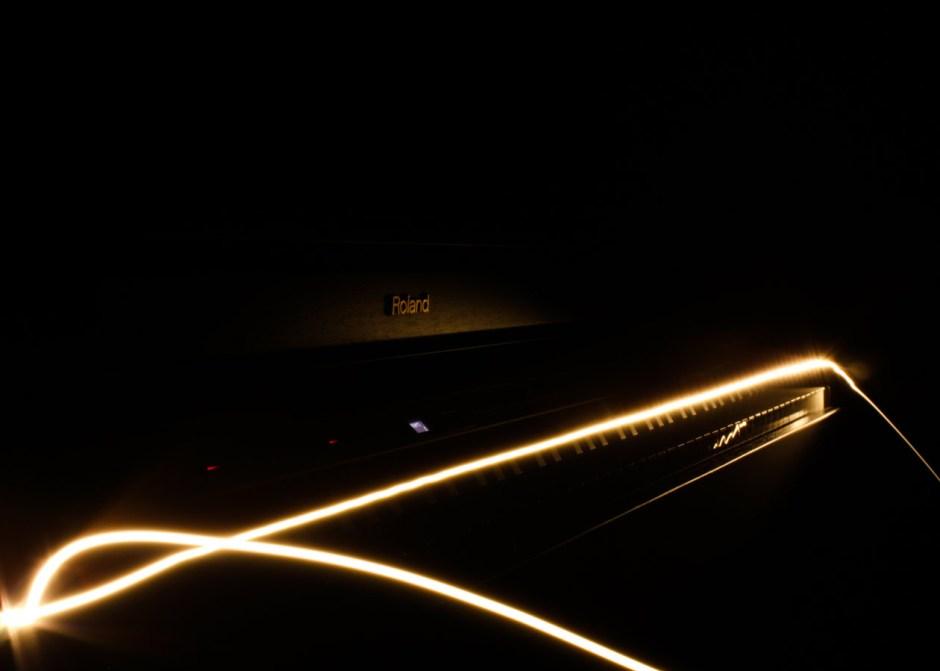 """Stephen Elliott -- """"Piano Lighting Beam"""""""
