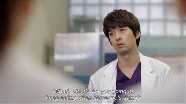 Gook Chun Soo - What's strict Are you going to keep eating when someone's dying