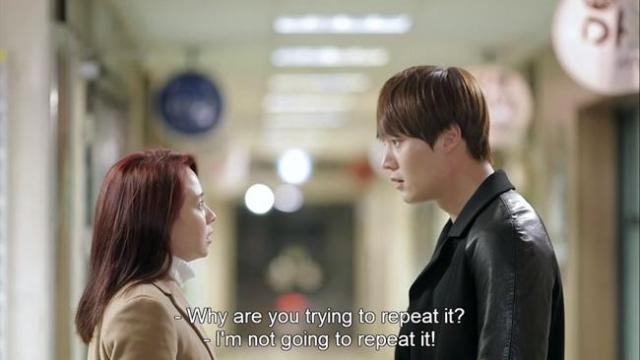 Oh Jin Hee - Why are you trying to repeat it