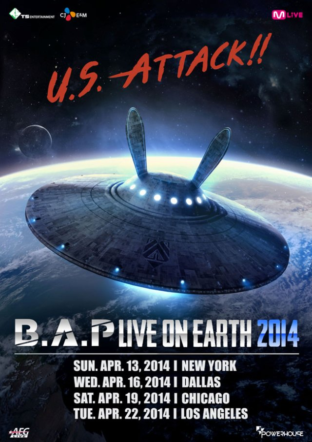 BAP tour poster