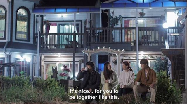 Shim Ji Hye - It's nice for you to be together like this