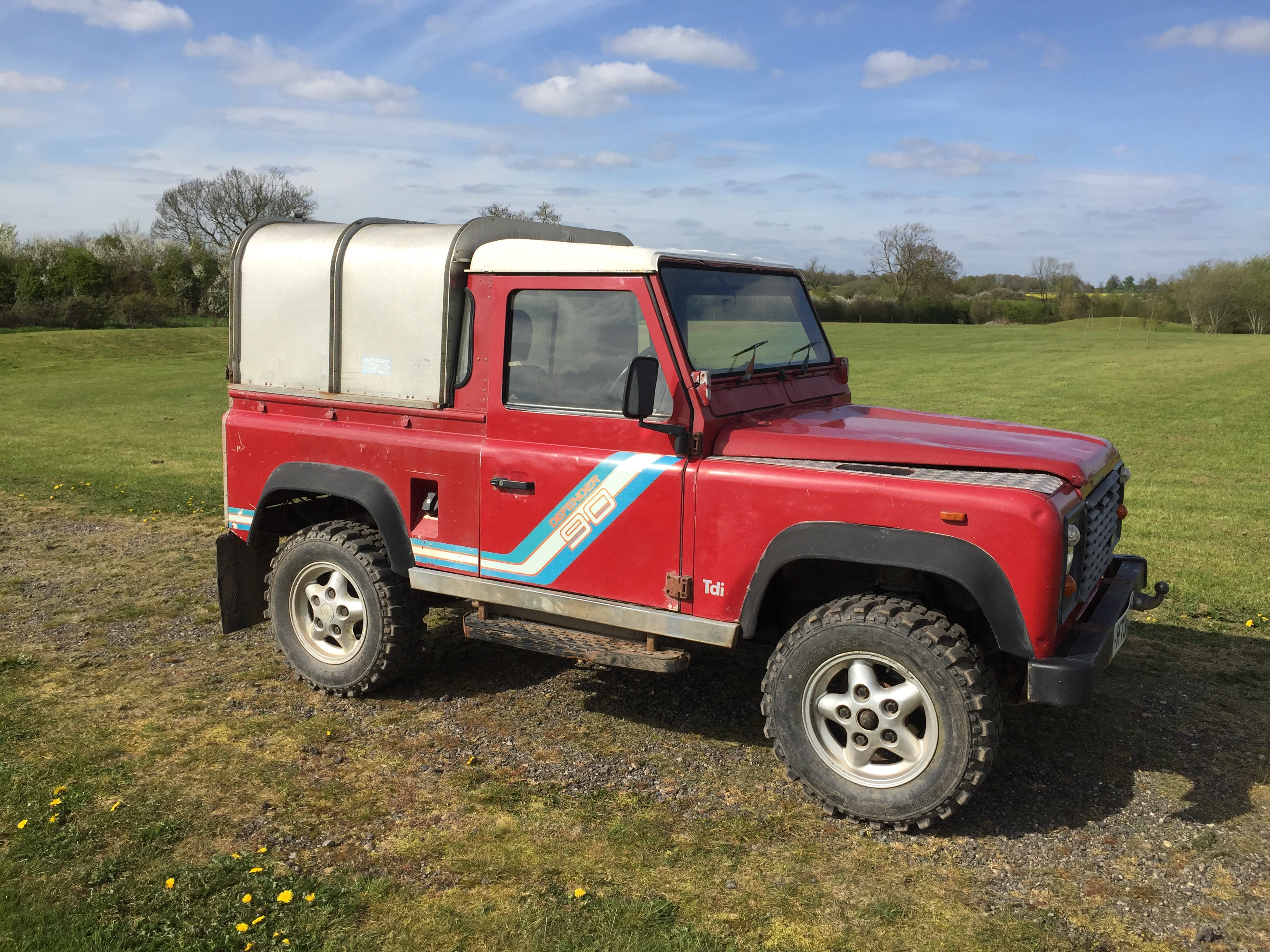 ing Soon Available for Depos – 1991 Defender 90 200Tdi