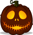 Jack (happy) pumpkin pattern - The Nightmare Before Christmas