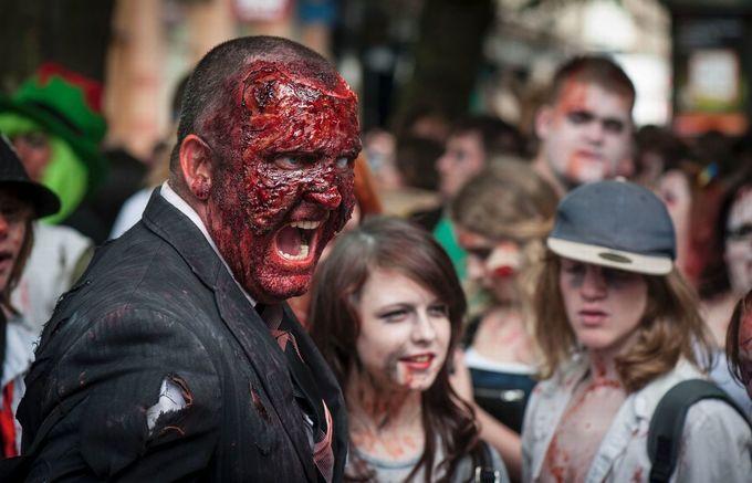 Zombie Walk For Birmingham Children's Hospital Charity in June