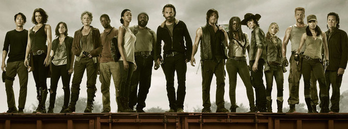 Google Hangout with Cast of 'The Walking Dead'! Woot!
