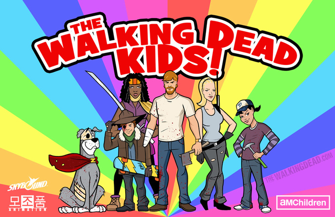 Walking Dead Cartoon for Children?
