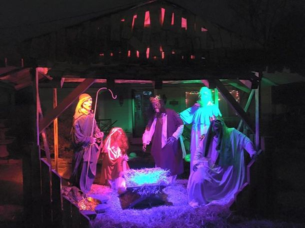 So Long, Zombie Nativity Scene